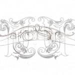 Letterhead Font Sketch
