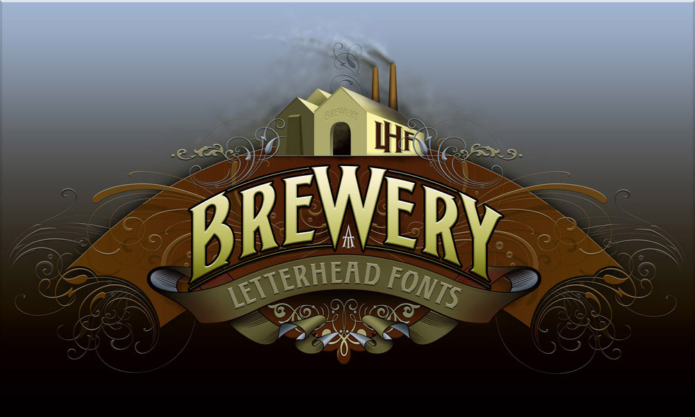Brewery Font Design