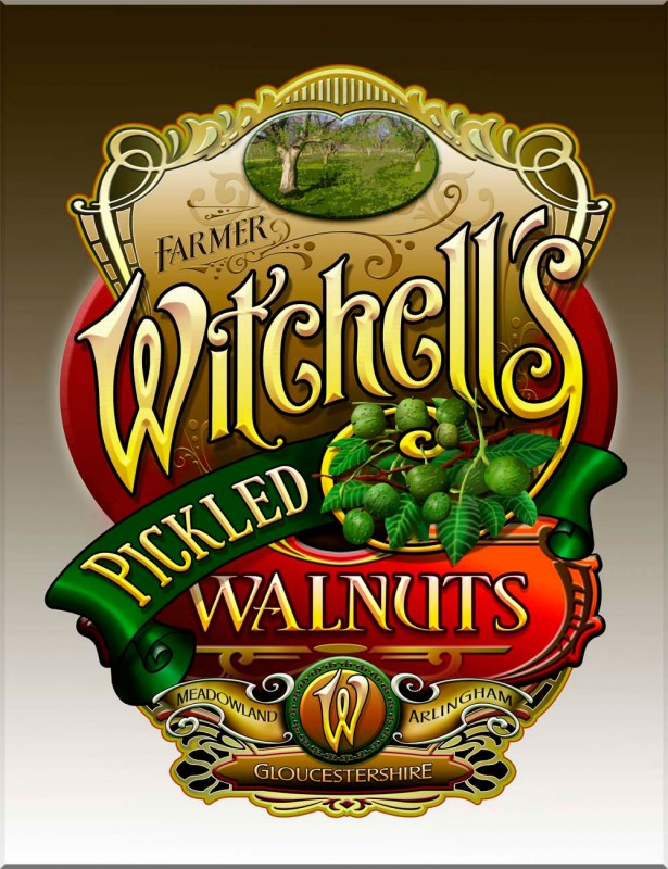 Witchell's Pickled Walnuts
