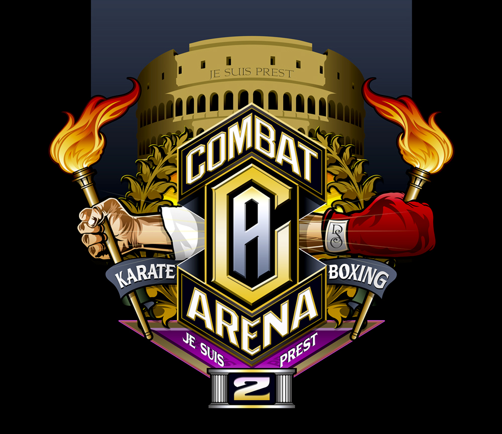 Photoshop Design for Combat Arena