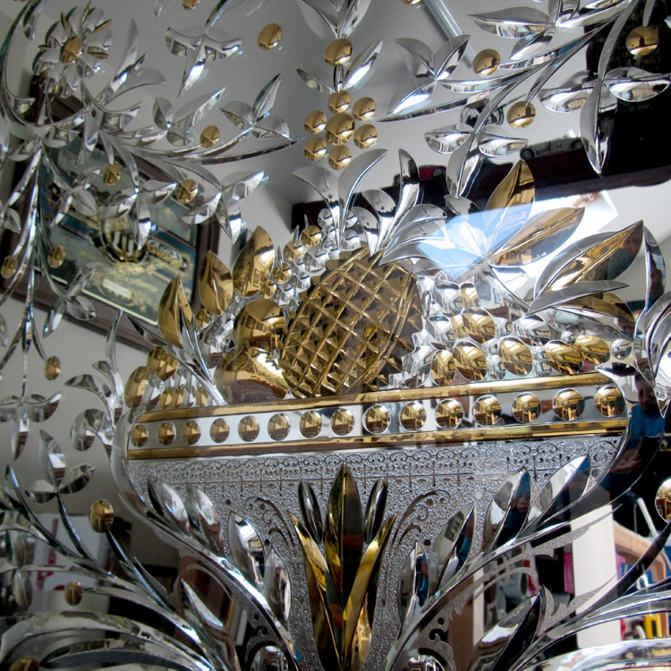 Elaborate Victorian Style Mirror