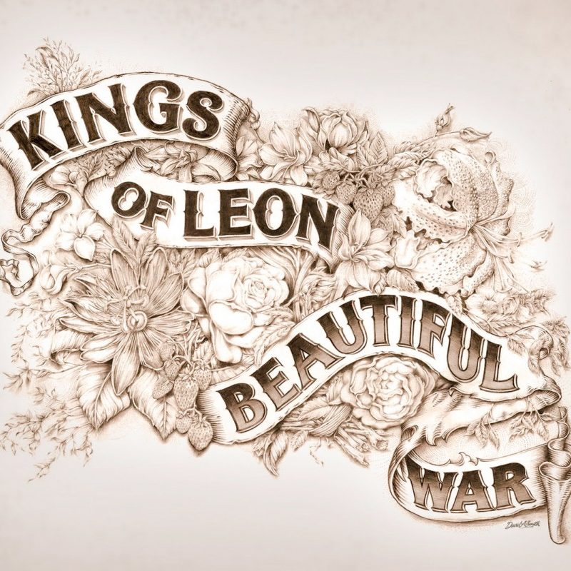 Kings of Leon – Beautiful War Cover Art