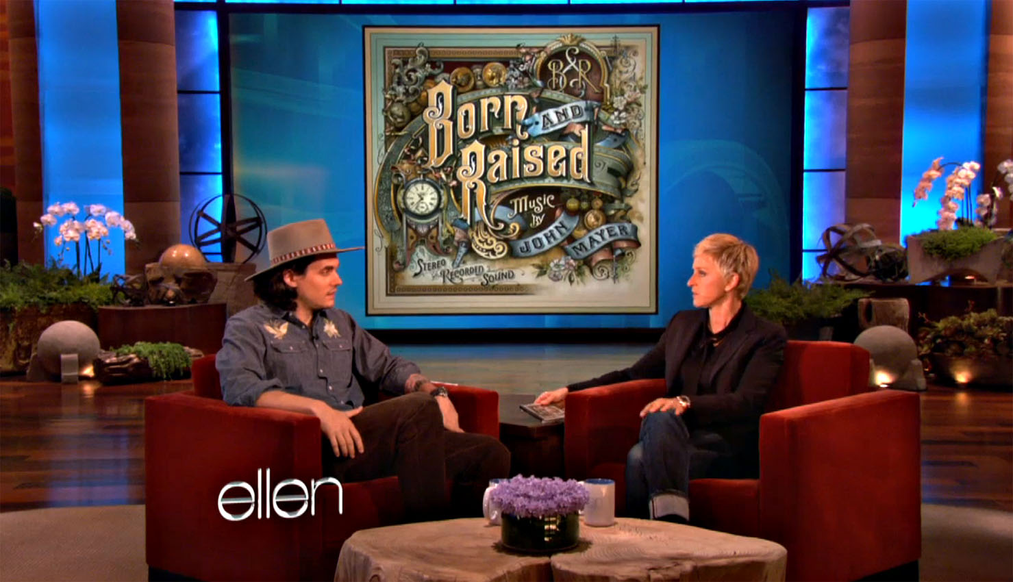 Ellen show new york john mayer david smith traditional ornamental glass artist - Ellen show new york ...