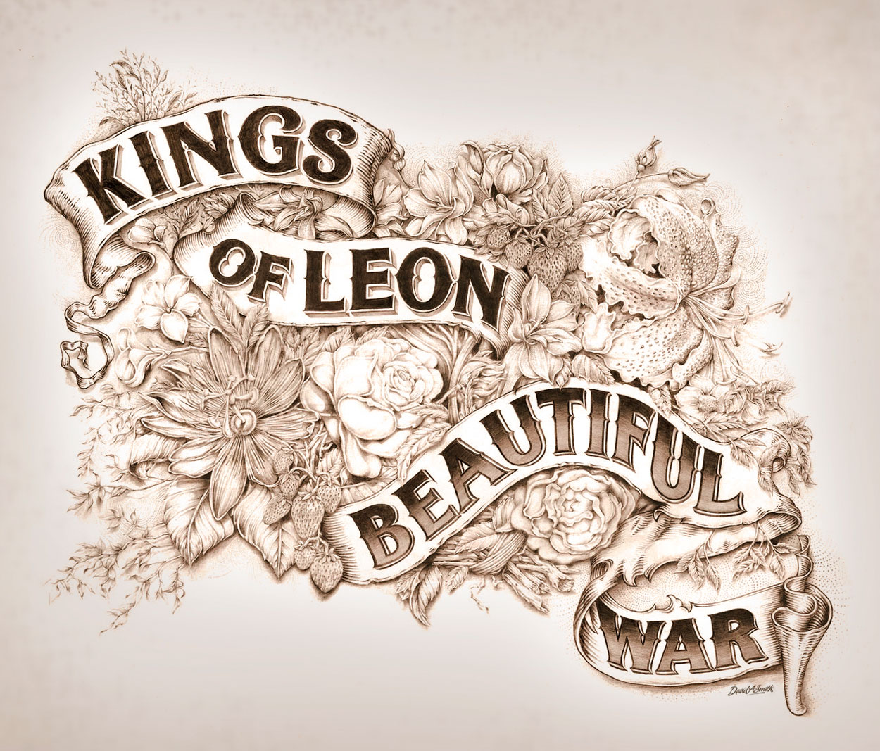 Kings of Leon – Beautiful War Cover Art « David Smith