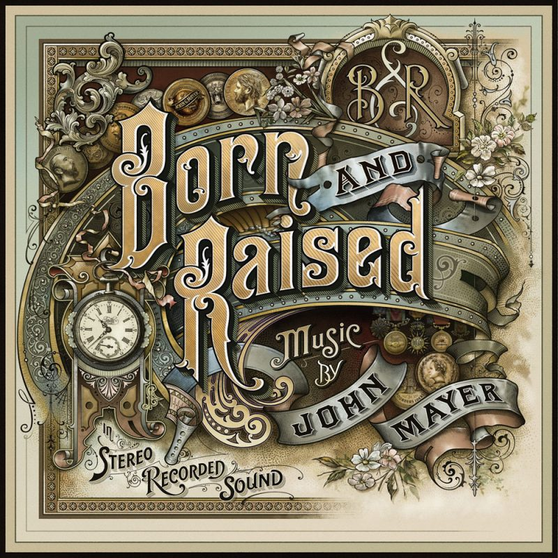Born & Raised Album Cover – John Mayer