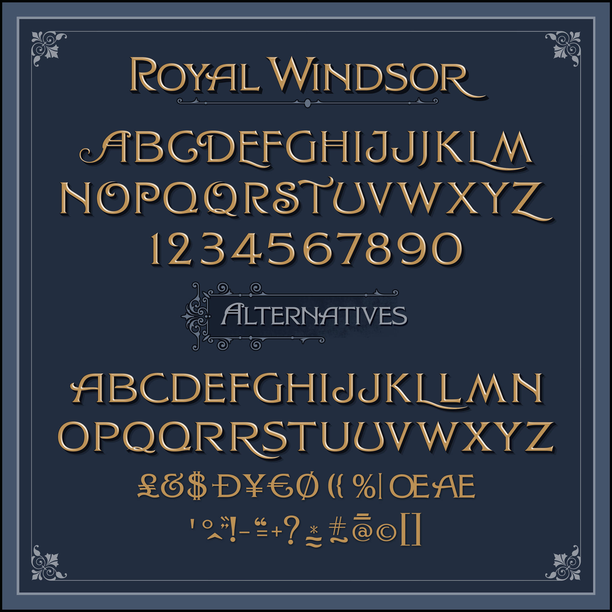 Royal Windsor Font