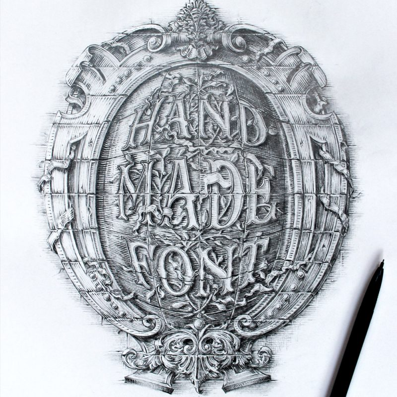 HAND MADE FONT
