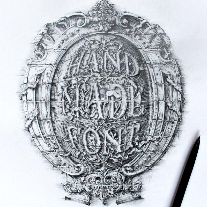 HAND MADE FONT