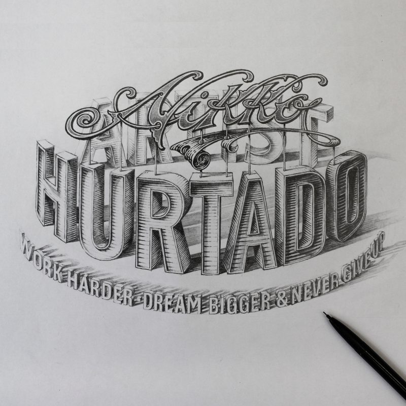 Nikko Hurtado Drawing